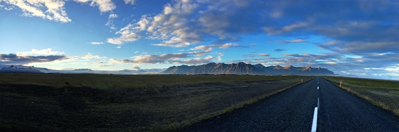 Mountain road (Panorama)