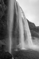 Seljalandsfoss (Black & White)