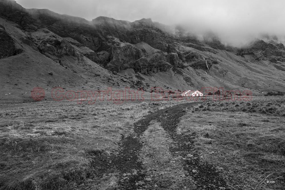 Þjóðvegur barn (Black & White)