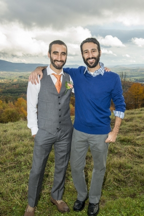 Groom and brother