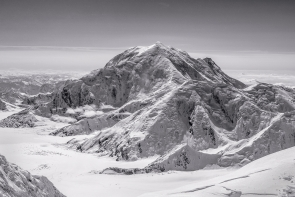 Mt. Foraker (Black & White)