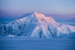 Sunset on Mt. Foraker
