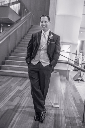 Groom (Black & White)